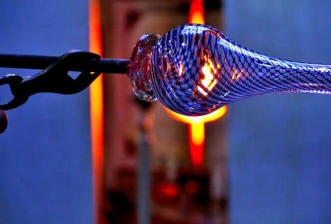 Glassblowing in Chicago Unique experience-Kids Are A Trip