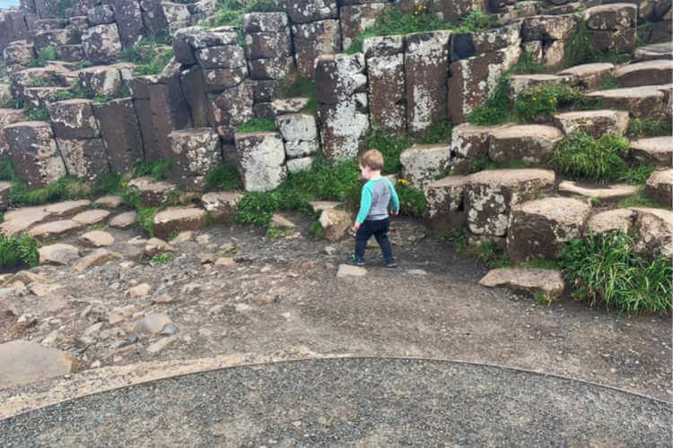 Giant's Causeway- Toddling Traveler - Amanda Emmerling