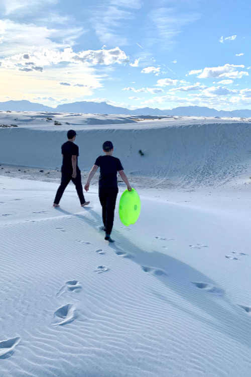 White Sands National Park-Kids Are A Trip