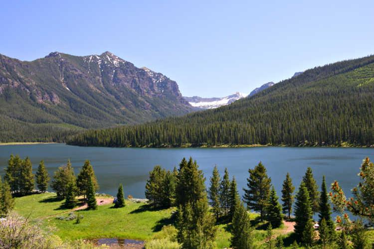 Bozeman Montana Gallatin Forest
