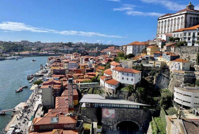 View of Porto Douro River-Kids Are A Trip