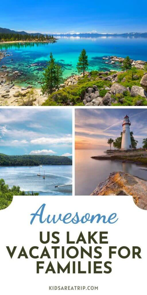 Best Lake Vacations in US for families-Kids Are A Trip