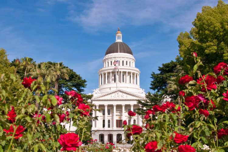 California capitol building Sacramento-Kids Are A Trip