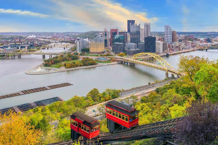 View of Pittsburgh-Kids Are A Trip