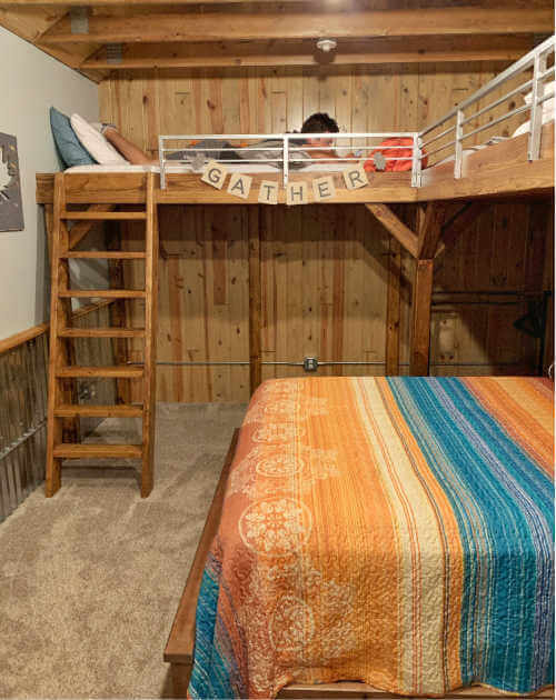 Bunk Room Gathering Place Mountain North Dakota-Kids Are A Trip