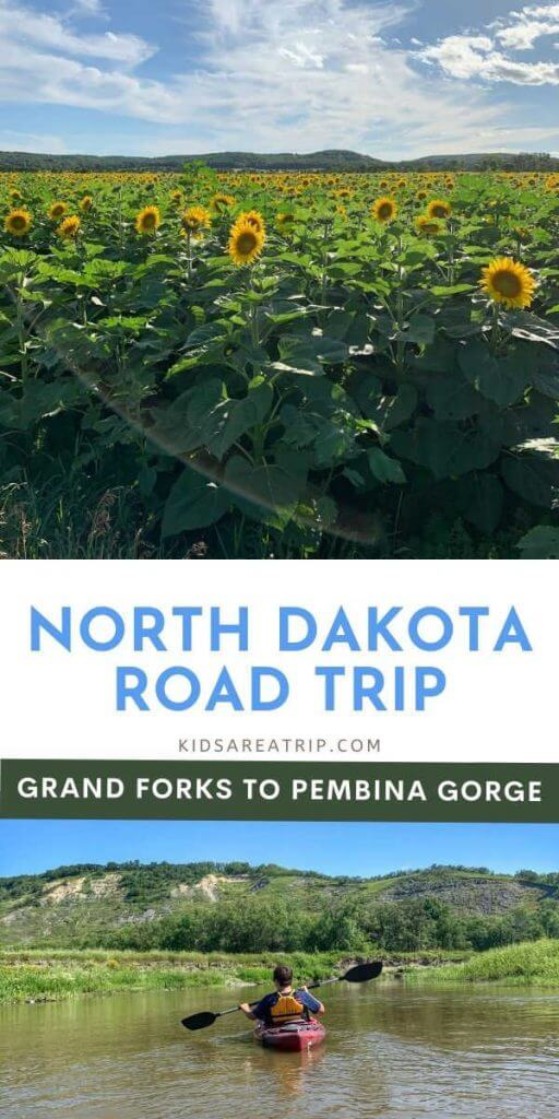 North Dakota Road Trip Grand Forks to Pembina Gorge-Kids Are A Trip