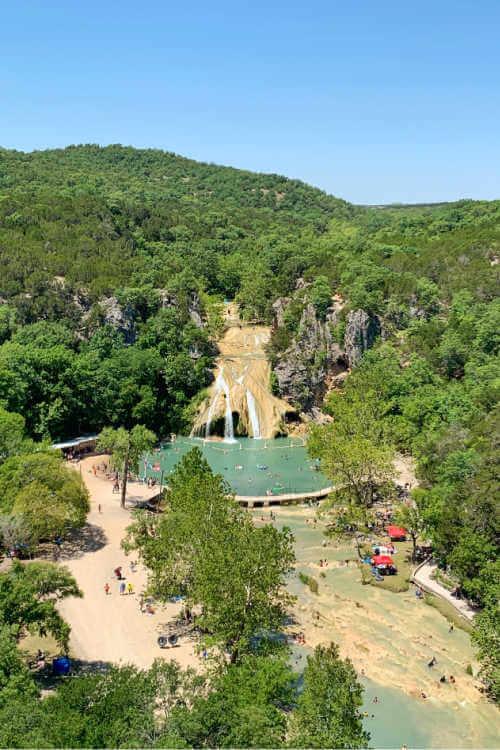 Turner Falls Oklahoma waterfalls-Kids Are A Trip