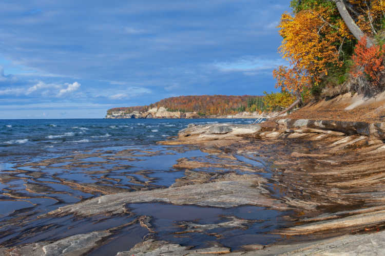 Pictured Rocks National Lakeshore Michigan-Kids Are A Trip