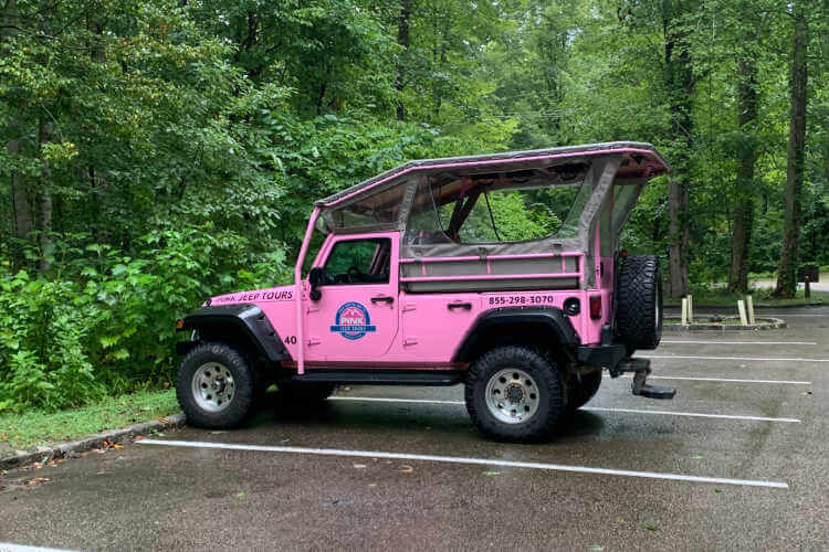 Pink Jeep Tour Great Smoky Mountains National Park-Kids Are A Trip