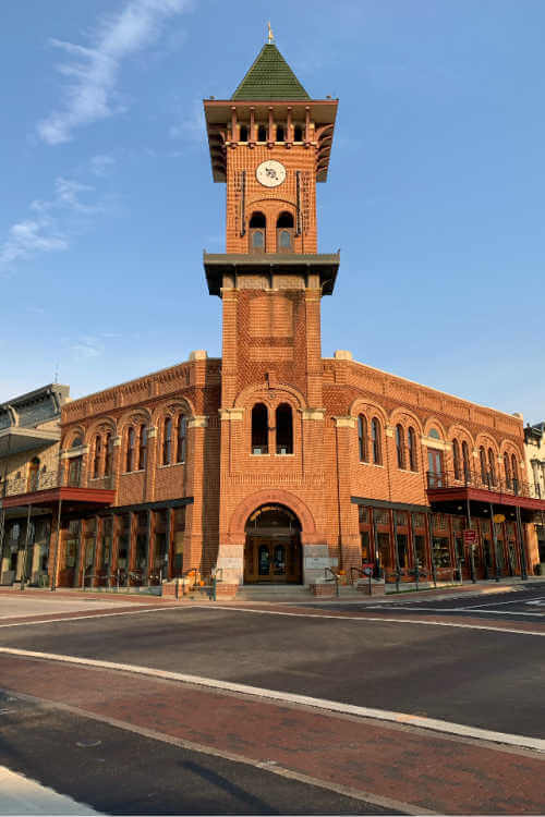 Grapevine Texas Clock Tower-Kids Are A Trip
