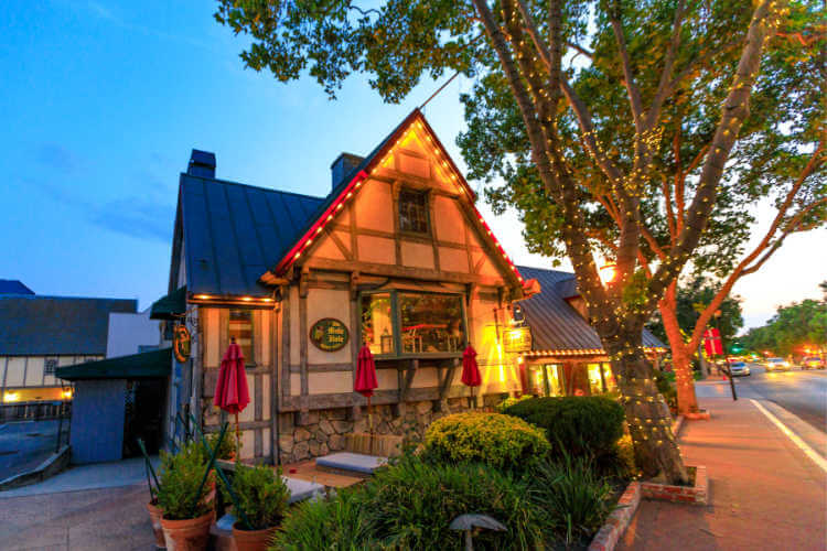 Solvang at Christmas-Kids Are a Trip