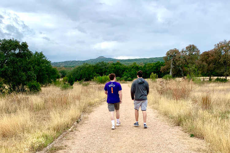Hiking with teens Jacobs Well Texas-Kids Are A Trip
