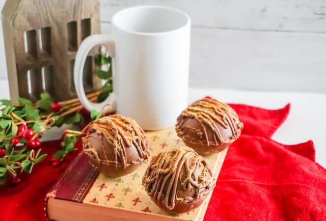 Mexican Hot Chocolate Hot Cocoa Bomb-Kids Are A Trip