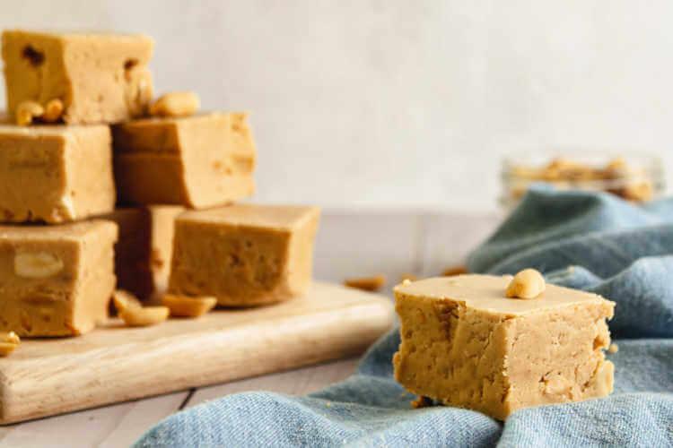 Peanut Butter Fudge closeup-Kids Are A Trip
