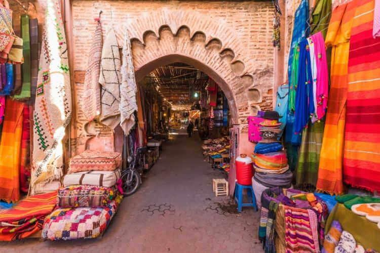 Marrakech souk-Kids Are A Trip
