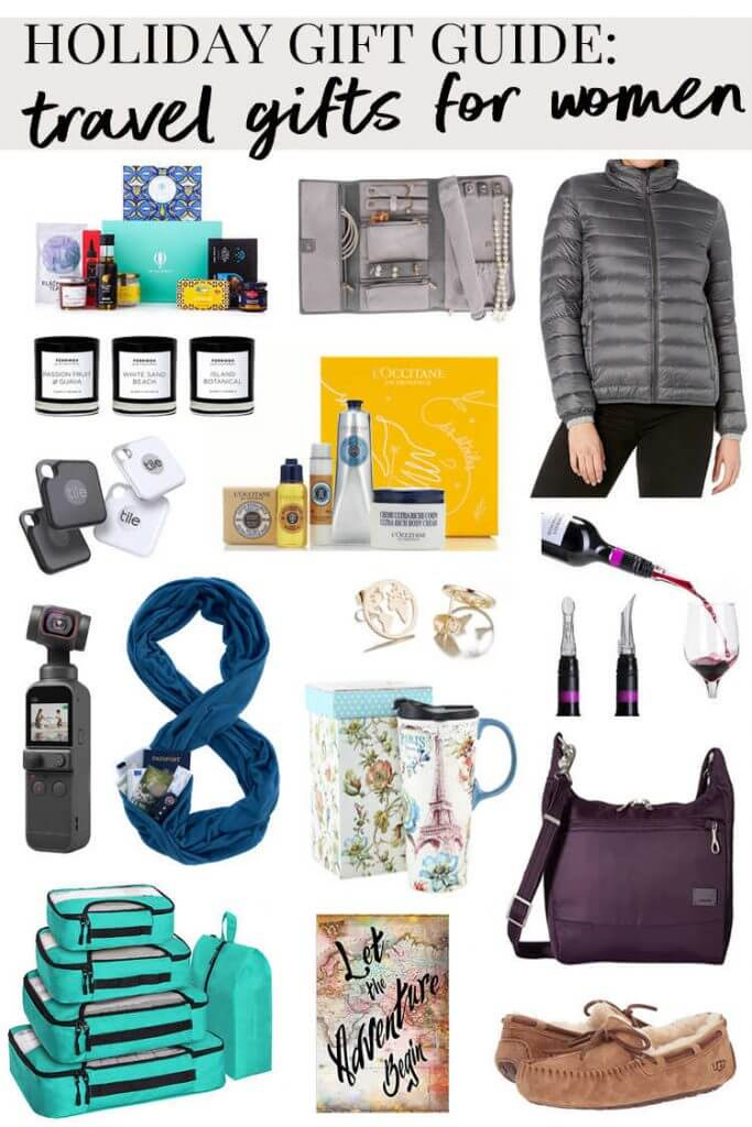 Amazing Gifts for Women Who Love Travel