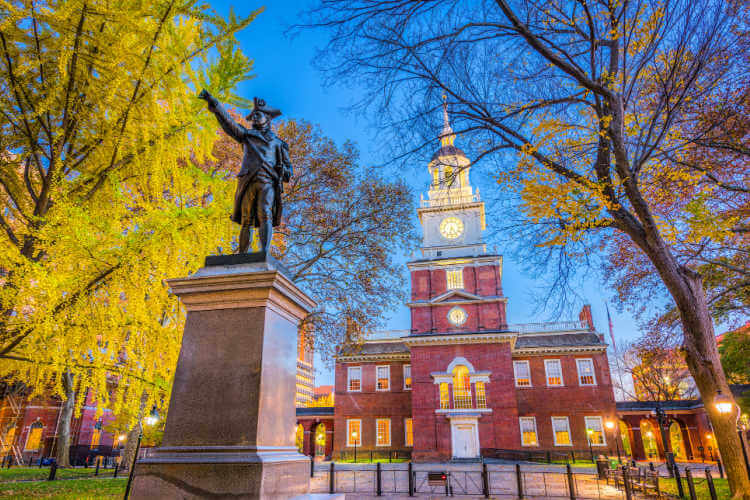 Independence Hall things to do in Philadelphia