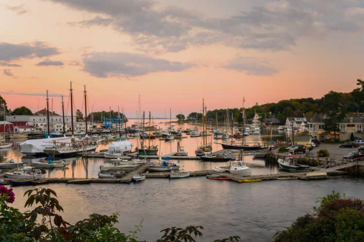 Camden Maine harbor