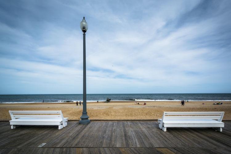 Rehoboth Beach Delaware boardwalk