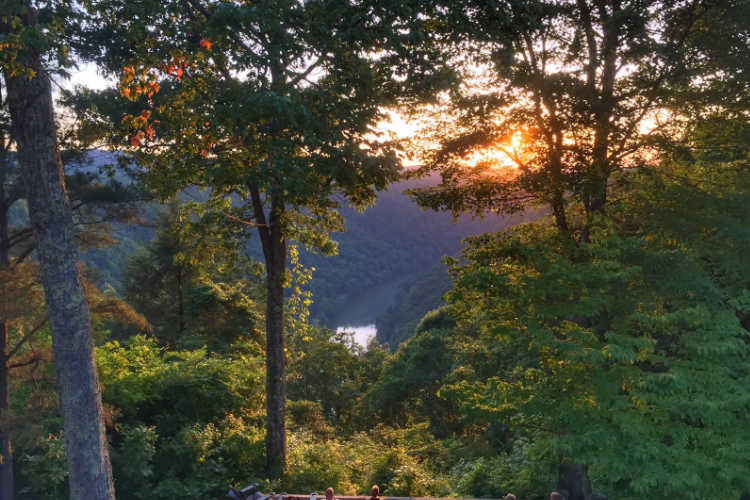 Adventures on the Gorge sunset