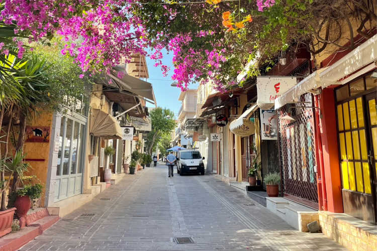 Charming streets of Chania