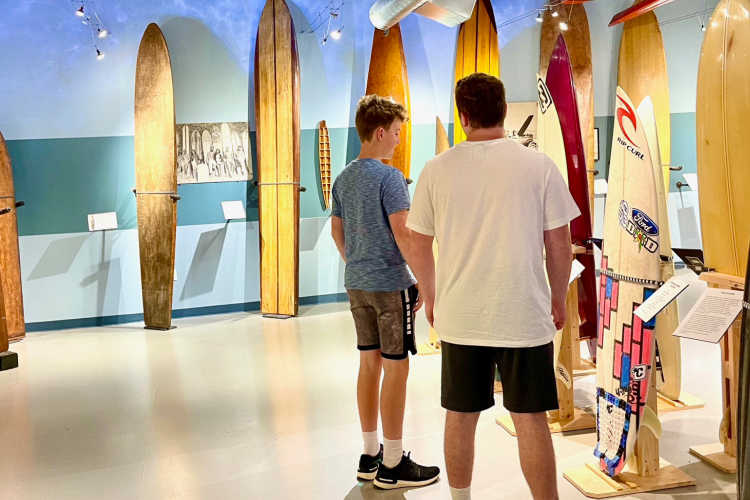 California surf museum-Kids Are A Trip
