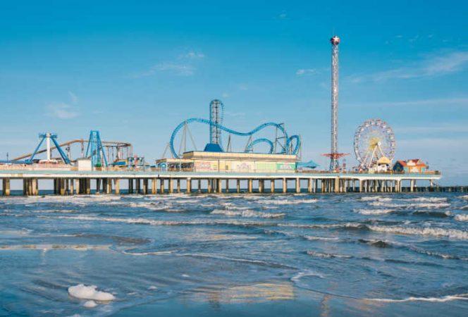 Pleasure Pier Galveston Texas