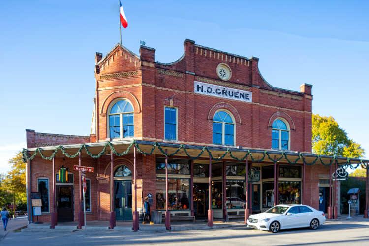Gruene Historic District Main Street