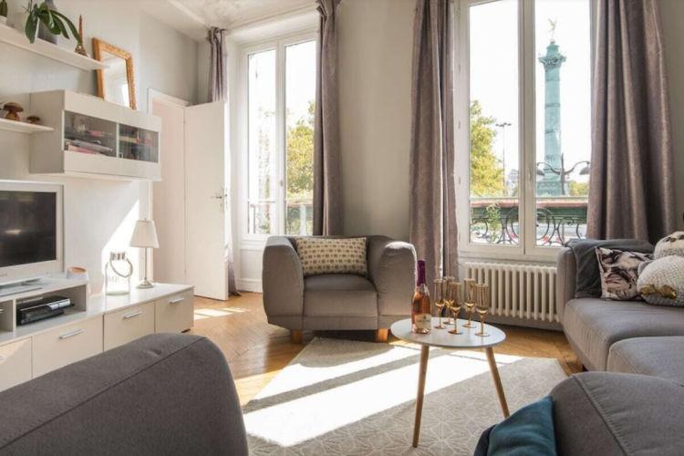 Paris apartment with a view