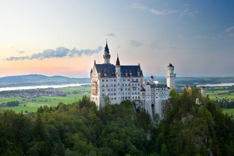 Europe road trips for families Neuschwanstein