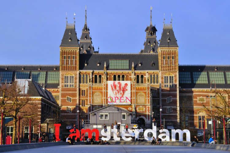 museum Rijksmuseum in Amsterdam
