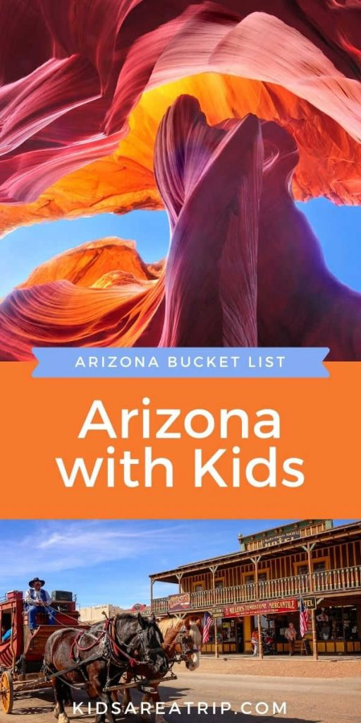 Awesome Things to do in Arizona with Kids-Kids Are A Trip