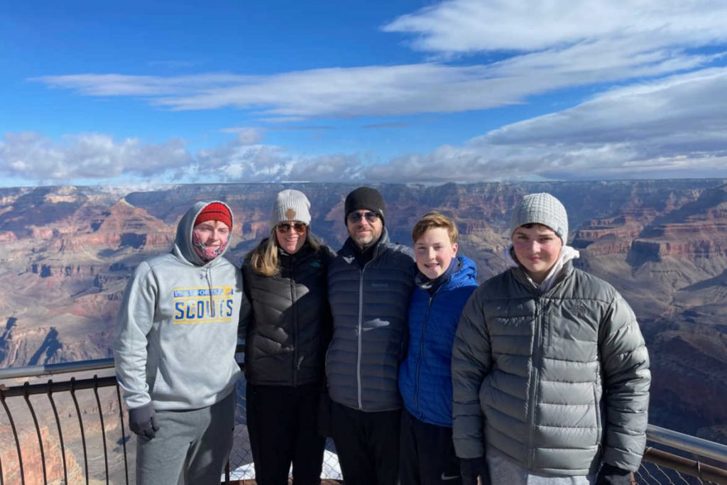 Grand Canyon family spring break-Kids Are A Trip