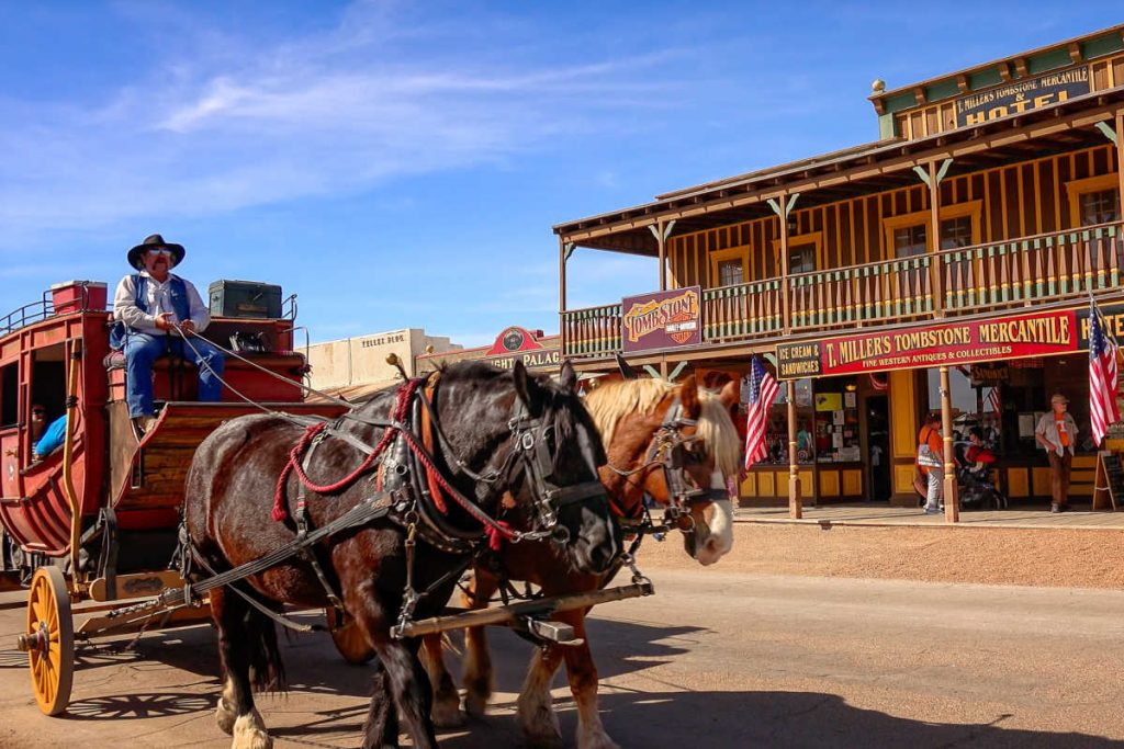 Tombstone Arizona Old West Town Stagecoach-Kids Are A Trip